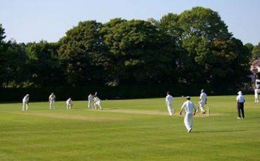 DCJS Old Boys against Sibton Park Cricket Club