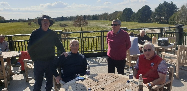 Old Dovorian Golf Society Match Report – Kings Hill Golf Course – 16th April 2021