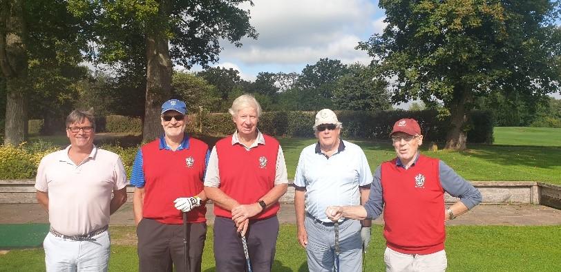 ODGS – Redlibbets & Hever Castle Golf Club Match Reports
